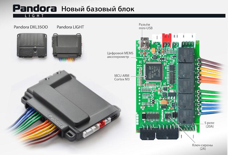 Pandora LX 3250 Купить в ЯРославле Автосигнализацию