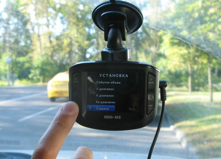 Видеорегистратор с антирадаром SHO-ME Combo 1 в Ярославле