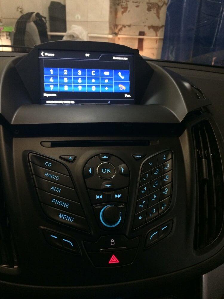 Установка сигнализации с автозапуском
