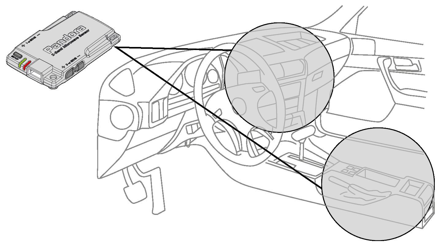 Двухуровневый датчик объема VS-21 D